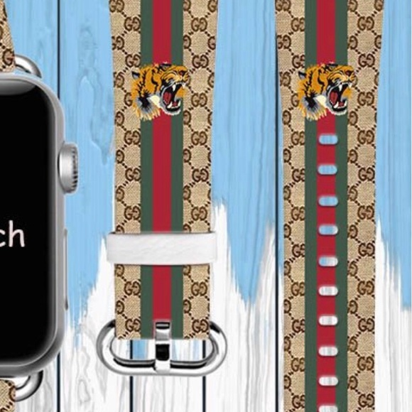 44045b6ee9c Gucci Other - Gucci Apple Watch Replacement Band